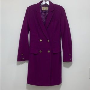 Yae Kwang Paris Purple Car Coat